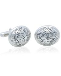 Brooks Brothers | Metallic Script Cuff Links | Lyst