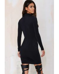 Nasty Gal - Black Misha Collection Roxana Bustier Dress - Lyst