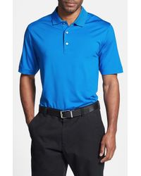 Cutter & Buck | Blue 'Echelon' Drytec Polo for Men | Lyst