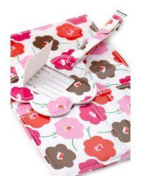 Forever 21 - White Floral Print Passport Holder - Lyst