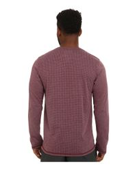 Adidas | Purple Climacool® Aeroknit Long Sleeve Tee for Men | Lyst