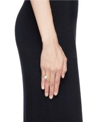 Joomi Lim | Metallic 'Spheres Of Influence' Pearl Ring | Lyst