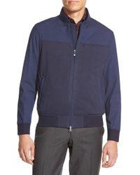 Vince Camuto - Blue Bomber Jacket for Men - Lyst