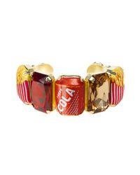 Bijoux De Famille | Red Deluxe Cuff Bracelet | Lyst