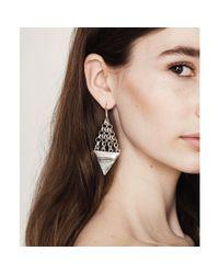 Jenny Bird Metallic Illumina Earrings