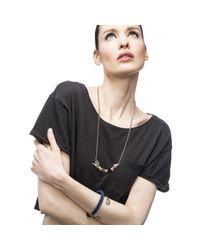 Lulu Frost | Metallic G. Frost Wrapped Arrowhead Necklace | Lyst