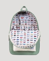 Herschel Supply Co. Green Rad Cars Collection Settlement Backpack for men