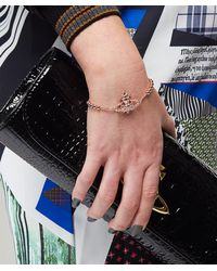 Vivienne Westwood - Pink Isolde Bas Relief Bracelet - Lyst