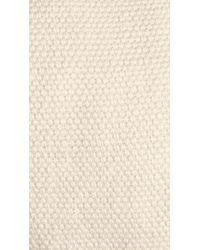 Burberry White Linen Flat Cap for men