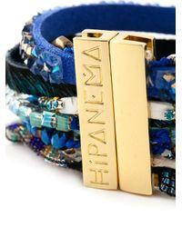 Hipanema - Multicolor 'Peacock' Multi-Strap Bracelet - Lyst