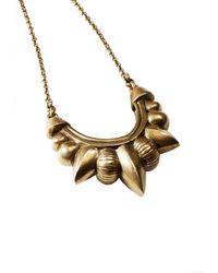 Pamela Love   Metallic Medium Tribal Spike Necklace   Lyst