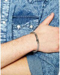 Emporio Armani | Metallic Bracelet | Lyst