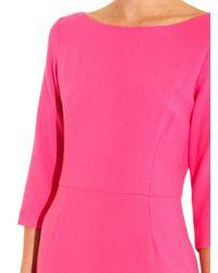 Goat Pink Venus Wool-Crepe Dress