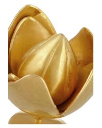 Pippa Small - Metallic 18karat Gold Flower Earrings - Lyst