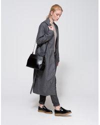 Just Female - Gray Liberty Wool Pants - Lyst