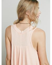 Free People | Pink Womens We The Free Monroe Tank | Lyst