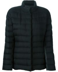 Moncler Gamme Rouge - Black Quilted Silk and Cashmere-Blend Jacket  - Lyst