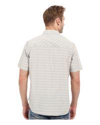 Toad&Co White Wonderer S/s Shirt for men
