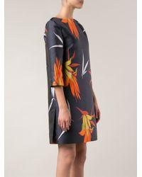 Marni - Blue Kapfu Matif Shift Dress - Lyst