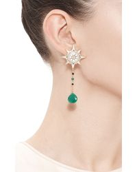 Masterpeace | Green Lodestar Tsavorite Earrings | Lyst