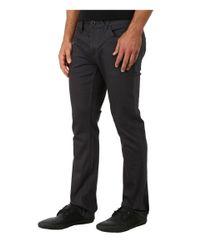 Volcom - Gray Vorta Twill Pant for Men - Lyst