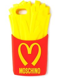 Moschino Multicolor Fries Iphone Case