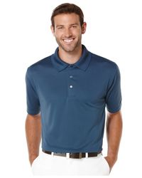 PGA TOUR - Blue Big And Tall Airflux Solid Performance Golf Polo for Men - Lyst