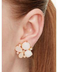 kate spade new york - Blue Sun Kissed Sparkle Statement Earrings - Lyst