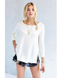 Project Social T | White Ava Tunic Top | Lyst