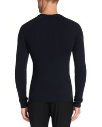 HUGO | Blue Sweater In New Wool: 'smudor' for Men | Lyst