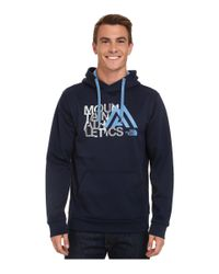 The North Face - Blue Mountain Athletics™ Graphic Surgent Hoodie for Men - Lyst