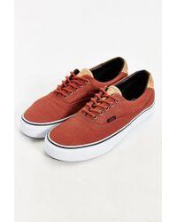 Vans | Brown Era 59 Cork Sneaker for Men | Lyst