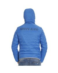 Armani Jeans - Black Down Jacket for Men - Lyst