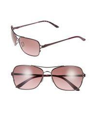 Oakley Brown 'conquest' 59mm Sunglasses