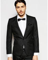 Ben Sherman - Black Plain Suit Jacket for Men - Lyst