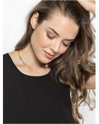 BaubleBar | Metallic Snowball Pearl Collar | Lyst