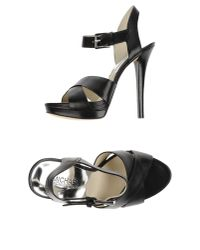 MICHAEL Michael Kors | Black Sandals | Lyst