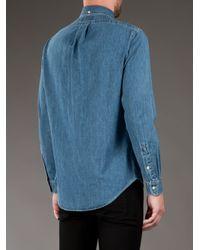Polo Ralph Lauren - Blue Denim Shirt for Men - Lyst