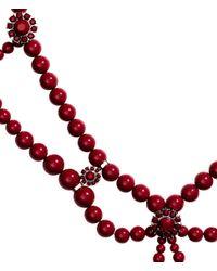 H&M - Purple Long Necklace - Lyst