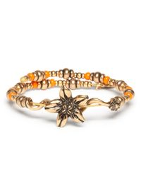 ALEX AND ANI | Metallic Vintage 66 Valley Wrap Bracelet | Lyst