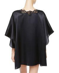 La Perla | Black Short Night Robe | Lyst