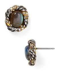 Alexis Bittar - Multicolor Elements Labradorite Feathered Stud Earrings - Lyst