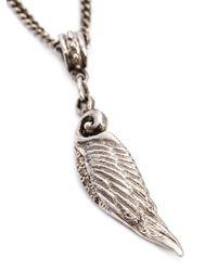 Roman Paul | Metallic Wing Pendant Necklace for Men | Lyst