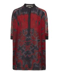 TOPSHOP - Multicolor Significant Tunic Shirt By Religion - Lyst