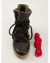 Étoile Isabel Marant Black Nowles Boots