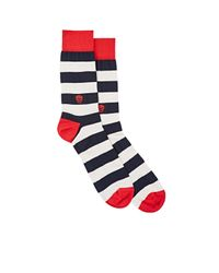 Alexander McQueen | Blue - Striped Socks - Men - Silk/cotton/polyamide/spandex/elastane - One Size for Men | Lyst
