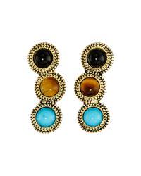 Sam Edelman Multicolor Stone Ear Crawler Earrings