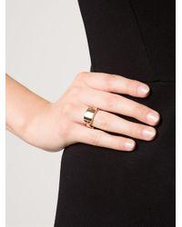 Hoorsenbuhs | Pink Bridal Plaque Ring | Lyst