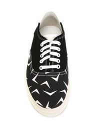 Saint Laurent - Black Skate Low-Top Sneakers for Men - Lyst