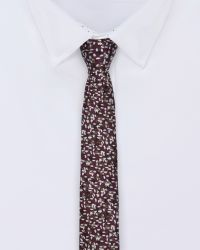 Ted Baker | Red Speckled Silk Tie for Men | Lyst